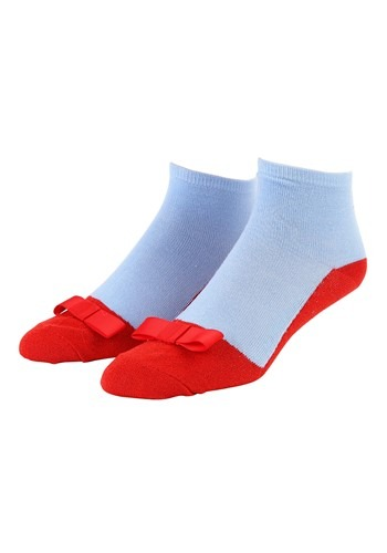Click Here to buy Women Wizard of Oz Dorothy Ruby Red Slipper Anklet Socks from HalloweenCostumes, CDN Funds & Shipping