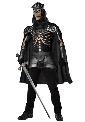 Click Here to buy Mens Skeleton King Costume from HalloweenCostumes, CDN Funds & Shipping