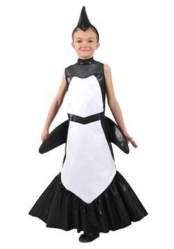Girls Orca Mermaid Costume
