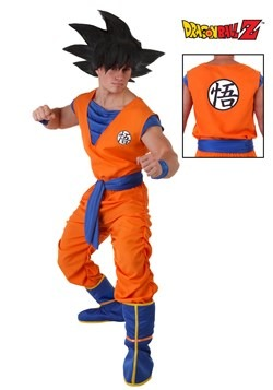 Dragon Ball Z Plus Size Goku Costume