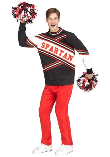Click Here to buy The Saturday Night Live Adult Deluxe Spartan Cheerleader from HalloweenCostumes, CDN Funds & Shipping