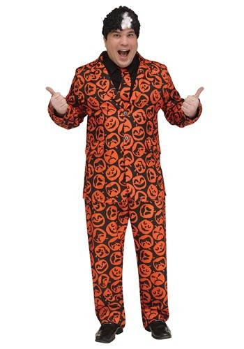Click Here to buy Saturday Night Live Plus Size Adult David S. Pumpkins Costume from HalloweenCostumes, CDN Funds & Shipping