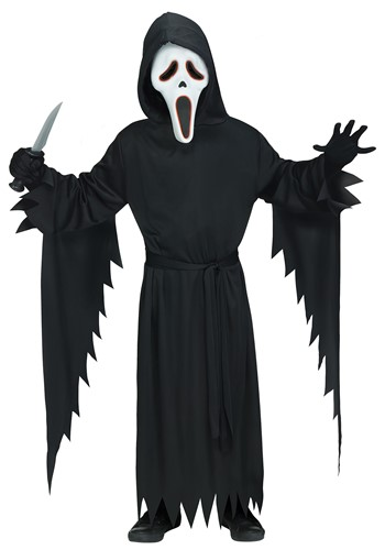 Click Here to buy Kids E.L. Ghost Face Costume from HalloweenCostumes, CDN Funds & Shipping