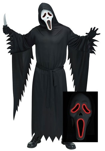 E.L. Ghost Face Costume Adult Plus Size