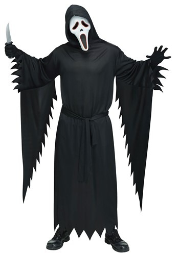 Plus Size E.L. Ghost Face Costume Adult