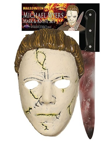 Michael Myers Halloween (Rob Zombie) Resilient Mask and Knife