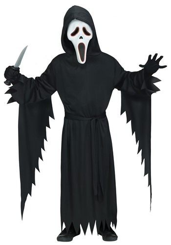 Adult E.L Ghost Face Costume
