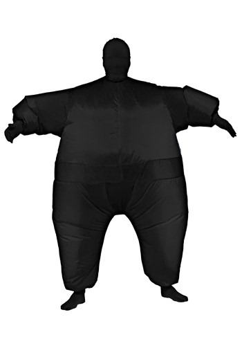 Adults Inflatable Black Jumpsuit Costume