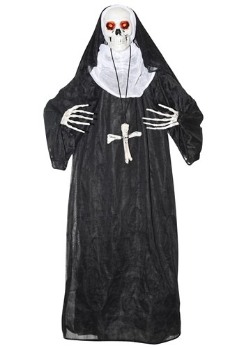 Animated Nun Prop