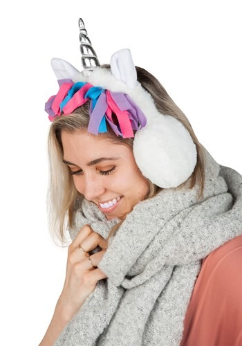 Unicorn Mane Ear Muffs Adults