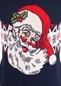 Adult Vintage Santa Unisex Ugly Christmas Sweater