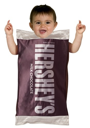 Click Here to buy Baby Hersheys Herseys Bar Bunting from HalloweenCostumes, CDN Funds & Shipping