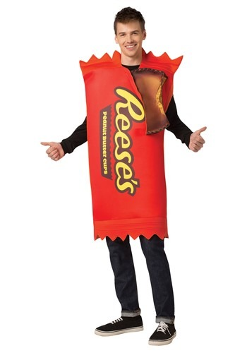 Click Here to buy Reeses Cup 2-Pack Costume for Adults from HalloweenCostumes, CDN Funds & Shipping