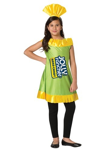 Apple Jolly Rancher Costume for Girls