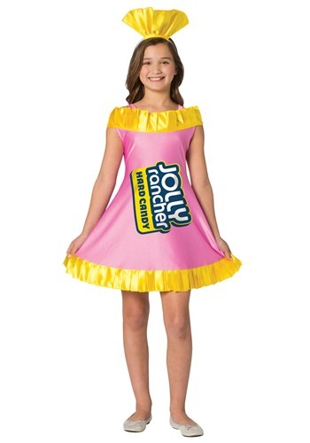 Click Here to buy Watermelon Jolly Rancher Costume for Tweens from HalloweenCostumes, CDN Funds & Shipping