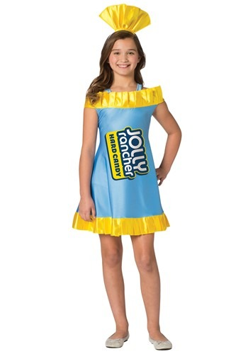 Click Here to buy Blue Raspberry Jolly Rancher Costume for Tweens from HalloweenCostumes, CDN Funds & Shipping