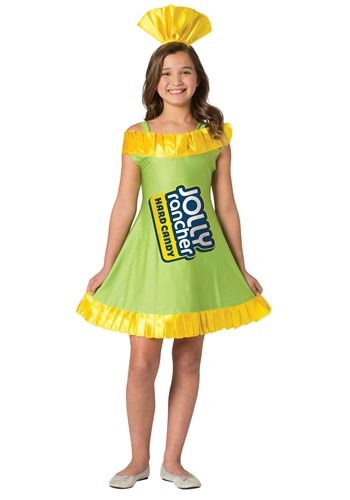 Click Here to buy Apple Jolly Rancher Costume for Tweens from HalloweenCostumes, CDN Funds & Shipping