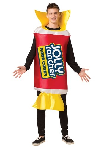 Click Here to buy Cherry Jolly Rancher Costume for Adults from HalloweenCostumes, CDN Funds & Shipping