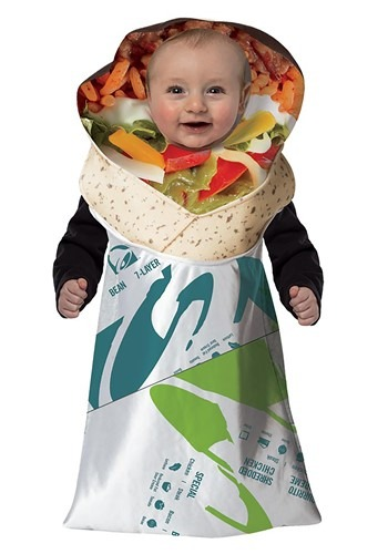 Infant Taco Bell 7 Layer Burrito Bunting Costume