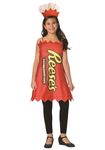 Reeses Girls Reeses Peanut Butter Cup Costume