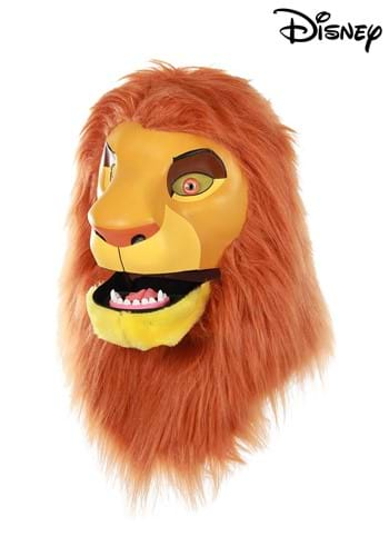Click Here to buy Disney The Lion King Simba Mouth Mover Mask with Mane from HalloweenCostumes, CDN Funds & Shipping