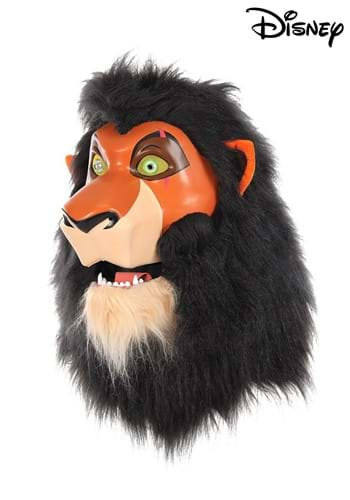 Click Here to buy Disney The Lion King Scar Mouth Mover Mask With Mane from HalloweenCostumes, CDN Funds & Shipping