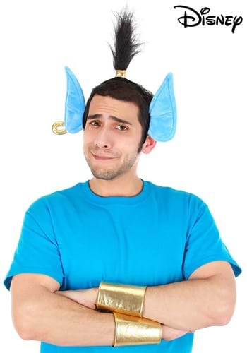 Click Here to buy Disney Aladdin Genie Headband & Cuffs Accessory Kit from HalloweenCostumes, CDN Funds & Shipping