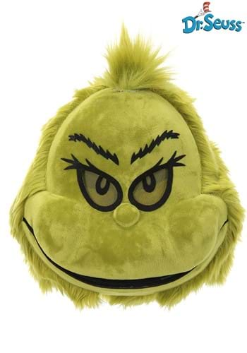 Click Here to buy Grinch Furry Mouth Mover Mask from HalloweenCostumes, CDN Funds & Shipping