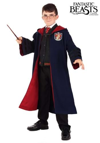 Click Here to buy Vintage Hogwarts Kids Gryffindor Robe from HalloweenCostumes, CDN Funds & Shipping