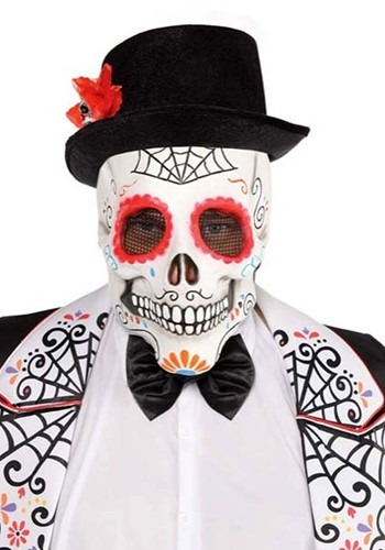 Click Here to buy Day of the Dead Mask for Men from HalloweenCostumes, CDN Funds & Shipping