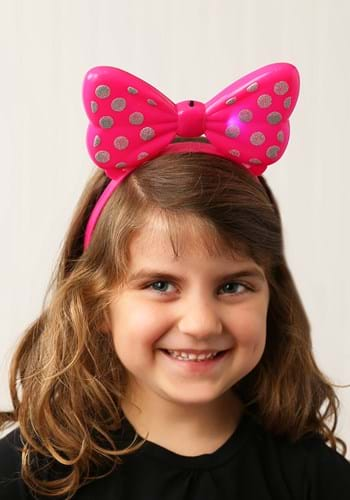 Click Here to buy Minnie Mouse Light Up Headband from HalloweenCostumes, CDN Funds & Shipping