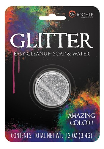 Click Here to buy Silver Glitter Makeup from HalloweenCostumes, CDN Funds & Shipping