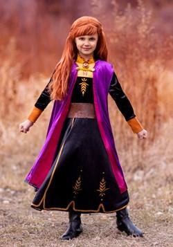 Frozen 2 Girls Anna Deluxe Costume