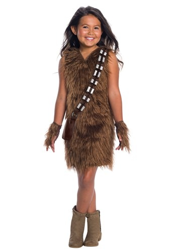 Star Wars Girls Chewbacca Deluxe Dress