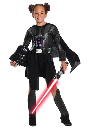 Star Wars Girls Darth Vader Deluxe Dress