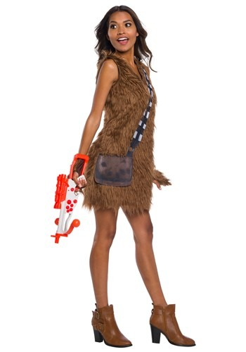 Womens Star Wars Chewbacca Dress Costume
