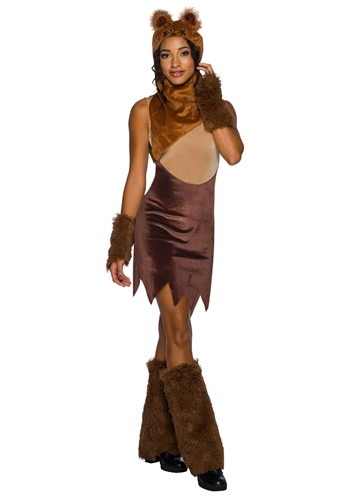 Womens Star Wars Ewok Dress Costume