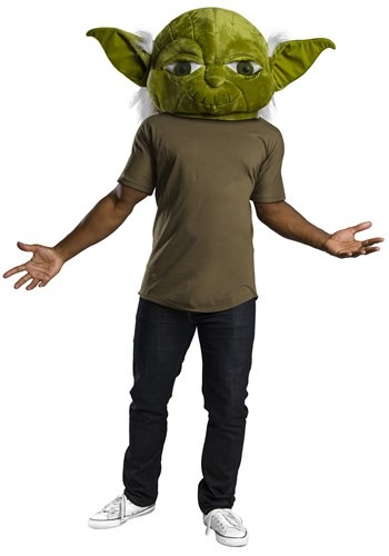 Click Here to buy Star Wars Oversized Yoda Mascot Head Mask from HalloweenCostumes, CDN Funds & Shipping