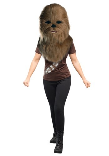 Oversized Chewbacca Star Wars Mascot Head