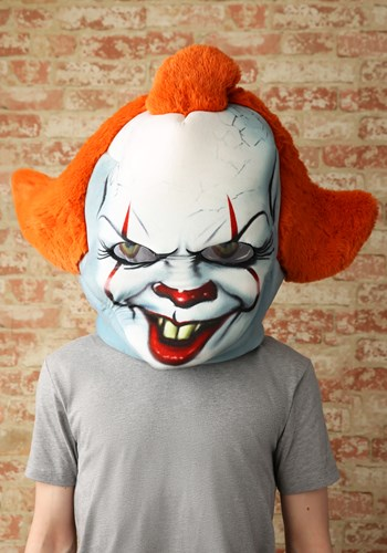 Click Here to buy Mascot IT Pennywise Mask from HalloweenCostumes, CDN Funds & Shipping