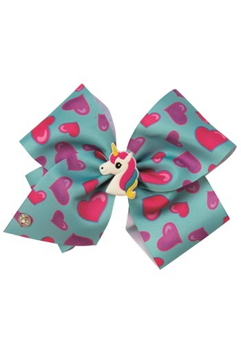 JoJo Siwa Blue Bow with Charm Accessory