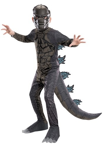 Click Here to buy Godzilla King of the Monsters Classic Godzilla Kids Costume from HalloweenCostumes, CDN Funds & Shipping