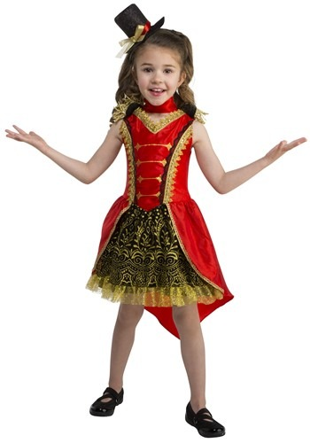 Click Here to buy Toddler Circus Ringmaster Girls Costume from HalloweenCostumes, CDN Funds & Shipping