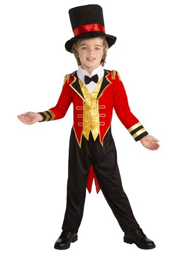 Click Here to buy Toddler Circus Leader Boys Ringmaster Costume from HalloweenCostumes, CDN Funds & Shipping