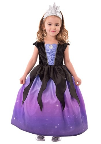 Girls Sea Witch Costume Kids