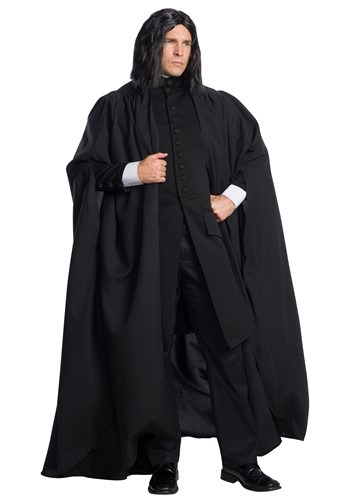 Click Here to buy Harry Potter Plus Size Severus Snape Mens Costume from HalloweenCostumes, CDN Funds & Shipping