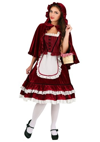 Women's Classic Red Riding Hood Costume