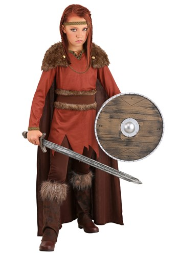 Girl's Viking Hero Costume
