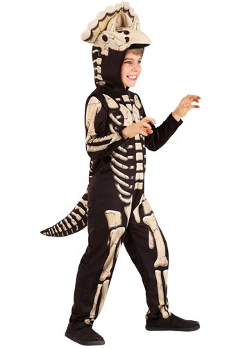 Triceratops Fossil Kids Costume