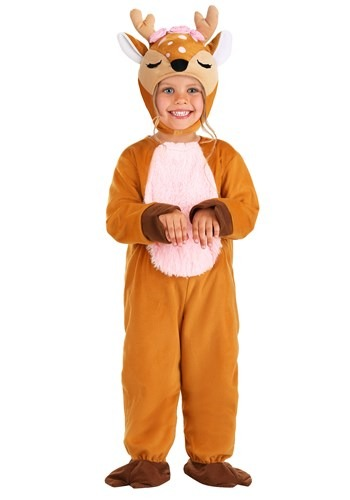 Click Here to buy Toddlers Darling Little Deer Costume from HalloweenCostumes, CDN Funds & Shipping